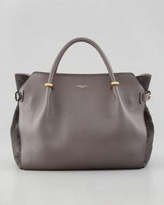 Nina Ricci Marche Small Tote Bag, Gray on shopstyle.com