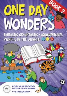 'Aquaventures'  Jesus calms the storm - ideas for teaching, crafts, games and other activities. // One Day Wonders - Book 2. Ideas for themed Bible events for two-hour or four-hour children's event, or a one-and-a-half hour family event.