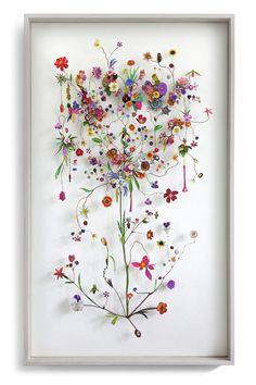 Flower construction by Anne Ten Donkelaar