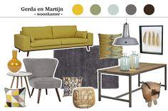 ... geel met grijs woonkamer collage more grijs woonkamer inspireren op