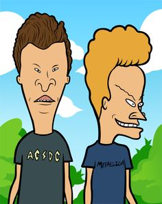 beavis and butthead by_guilherme