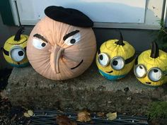 Despicable me pumpki