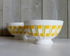 Bonjour Lovely Porcelain Bowsl Of Cafe Au Lait Manufactured By Sarreguemines For Your Breakfast Or