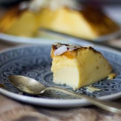 Cómo preparar flan de huevo y crema de almendras con Thermomix