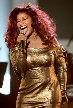 Chaka Khan performs a tribute to Whitney Houston onstage during the 2012 BET Awards at The Shrine Auditorium in Los Angeles.