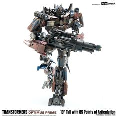 Transformers Age of Extinction Optimus Prime Evasion Edition premium scale collectible figure available for pre-order at www.bambaland.com and 3A Stockists Worldwide! Full details: http://www.worldofthreea.com/threea-production-blog/tf4prime and more pics on our blog as well! #threeA #WorldOf3A #WO3A #Hasbro #Transformers #OptimusPrime #Autobots #AgeOfExtinction #3AStockist