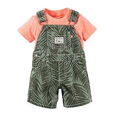 9e2fbf514 jcp | Carter's® Tee and Shortalls Set - Baby Boys newborn-24m Carters Baby