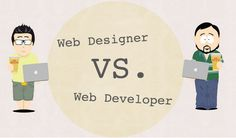Infographic – Web Designer Vs. Web Developer