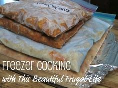Freezer cooking meals to use with Zaycon Chicken!