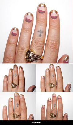 This nail art DIY from Mara Hoffman was inspired by Star Wars (seriously!) and is perfect for music festival season.