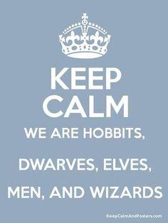 I'd be an Elf, actually. Elves are tall. ;)<<<<<I'd definitely be a hobbit. I'm short:) -Andrea