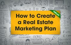 Use this *free real estate marketing plan template* and tips for estimating, managing, and tracking your marketing expenses for generating new leads. http://plcstr.com/1I8KOHL #realestate #marketing