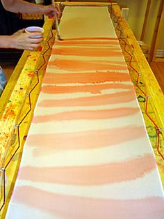 How to Paint on Silk. Painting on silk is a fun and simple project that anyone can undertake. There are a few different techniques for painting silk, including the Serti method and the. Tie Dye Crafts, Ribbon Crafts, Tie Dye Techniques, Painting Techniques, Direct Method, Middle School Art Projects, Scarf Tutorial, Diy Scarf, Fabric Painting