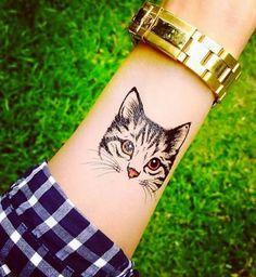 20 tatouages de chat qui vous feront ronronner de plaisir