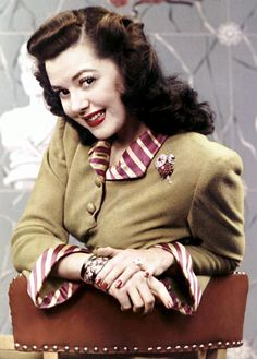 Ann Rutherford, of Gone With The Wind
