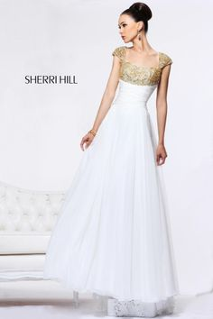 Sherri Hill - Dresses  THE DRESS FOR ME FULLSTOP! Love it :')  Beautiful modest prom dress