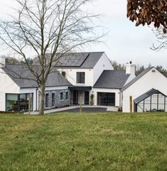 Image result for house design ireland House Designs Ireland, Extension Ideas, House Extensions, Bungalow, Shed, New Homes, Outdoor Structures, Cabin, House Styles