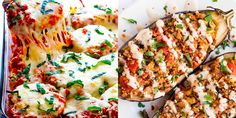 This veggie is more than just an emoji. If you're not sure how to cook with eggplant, make one of these amazing eggplant recipes. Real Food Recipes, Great Recipes, Vegan Recipes, Dinner Recipes, Yummy Recipes, Vegan Menu, Eggplant Recipes, Vegetarian Options, Veggie Dishes