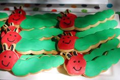 The Very Hungry Caterpillar Birthday Party Ideas | Photo 3 of 18 | Catch My Party