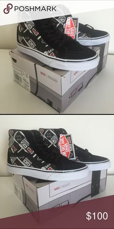 566cc38d40de9a Description  🔥 BRAND NEW 🔥 Sick Nintendo Controller High Top Vans! men  size women size Sold by socalposhkat.