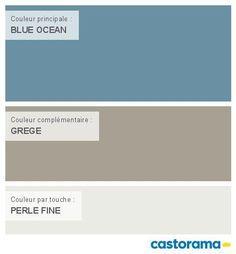 castorama nuancier peinture mon harmonie peinture blue ocean mat de colours collection