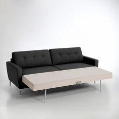 Pack lit gigogne bali gris anthracite 80x200 cm avec 2 for Canape lit la redoute