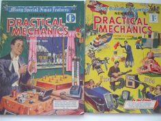 2 PRACTICAL MECHANICS 1954 F J Camm PROJECTS TO MAKE & DISCOVER | eBay