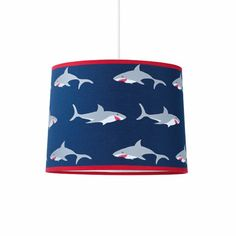 This is a jaw droppingly gorgeous pendant shade for your kid's bedroom! http://www.babydeco.co.uk/product/Pendant-Shark.html/ £15.40