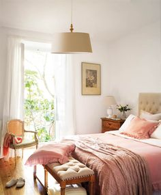 Beautiful bedroom / home deco - Home Interior, Interior Decorating, Interior Design, Home Bedroom, Bedroom Decor, Bedrooms, Ideal Home, Home Accessories, Sweet Home