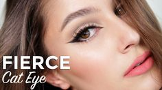 A striking winged eyeliner look that really transforms the shape of the eye! Inspired by 60's makeup trends, with graphic lines and luscious lashes. I give l...