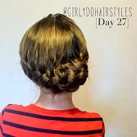 Girly Do Hairstyles: By Jenn: Week 6 {#GirlyDos100DaysofHair}