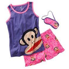 Paul Frank Julius Pajama Set - Girls