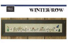 Winter Row Chart Pack by Bent Creek