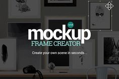 Mockup Frame Creator by Place.to on @creativemarket