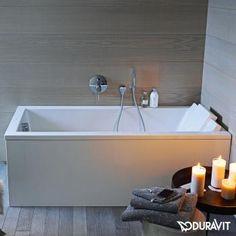 413 pas de dosseret Duravit Starck rectangular bath L: 160 W: 70 cm