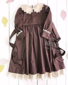 Frocks For Girls, Little Girl Dresses, Girls Dresses, Little Girl Fashion, Kids Fashion, Dress Anak, Kids Dress Wear, Baby Dress Design, Baby Dress Patterns