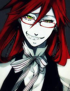 I can't tell u how much this guy means to me. He entertains me when I'm bored. Makes me happy when I'm sad. Makes me calm when I mad. Thank you, Grell Sutcliff, for all that u do.