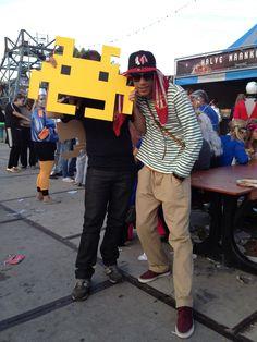 Valtifest theme 'welcome to Uranus' 2012 Pacman eating streetstyle fashion