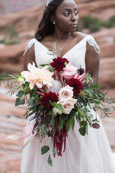 bouquet with pink da