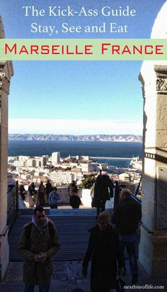 View from Notre Dame Cathedral in Guide to Marseille city France:  Where to stay in Marseille, places to visit in Marseille, places to eat and other Marseille France points of interest. #Marseille #France #Notredame