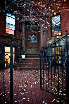 Entry Gate, Boston, Massachusetts photo via eslam