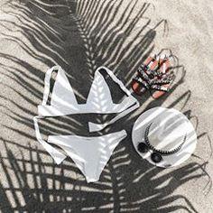 Détails du jour 🌊 Bikini @khavenswimwear Chapeau @ray_hats Mules #zara Solaires @jimmyfairly . . . . #outfit #detailshot #summerlook #summerstyle #summervibes #swimsuit #ombre#white#beach#capverde #boavista #khavenswimwear #jimmyfairly #rayhats #fashionista #fashiongram #fashioninsta #fashionstyle #fashioninspo #bloggerstyle July 31, Thong Bikini, Zara, Bikinis, Instagram, Boa Vista, Street Styles, D Day, Hat