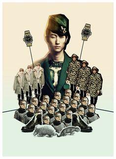 Collage Militar!