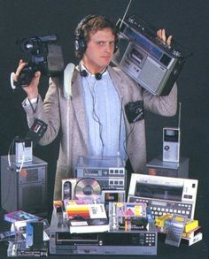 30 years later, you carry all of this in your pocket