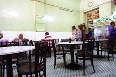 Chow Kit - Capitol Cafe - opposite SOGO @ 213 Jalan Tuanku Abdul Rahman, famous for its Nasi Padang Stall. Photo by hungrygowhere.