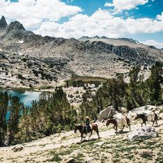 Wild Spaces - Horseback and Fly-fishing in the Eastern Sierras