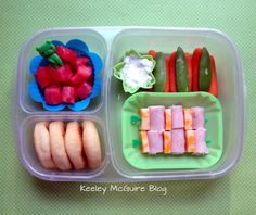 Keeley McGuire: Lunch Made Easy: 20 Non-Sandwich School Lunch Ideas for Kids! Really cute and yummy looking. And easy to make. Non Sandwich Lunches, Sandwiches For Lunch, Lunch Snacks, Snack Box, Lunch Recipes, Yummy Recipes, Kid Snacks, Recipies, Kids Lunch For School