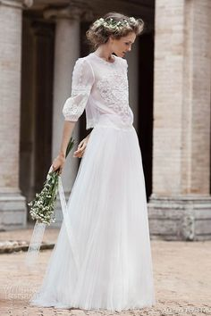 Alberta Ferretti Bridal Forever 2016 Wedding Dresses | Wedding Inspirasi // Pinned by Dauphine Magazine x Castlefield - Curated by Castlefield Bridal & Branding Atelier and delivering the ultimate experience for the haute couture connoisseur! Visit www.dauphinemagazine.com, @dauphinemagazine on Instagram, and @dauphinemag on Pinterest • Visit Castlefield: www.castlefield.co and @ castlefieldco on Instagram / Luxury, fashion, weddings, bridal style, décor, travel, art, design, jewelry