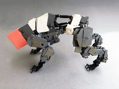 Sry for the Name, i you have a better idea.please let me know :) I love this build and there is also a mini Version with instruction for everyone available. I use some Cobi wedge tiles here on the sides, so Purists look in another direction please. Arte Robot, Lego Robot, Lego Toys, Lego Design, Robot Design, Legos, Lego Mechs, Lego Bionicle, Lego Machines