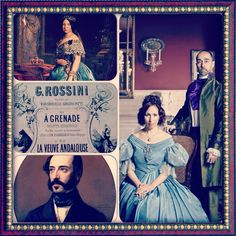 A story board of the Rossini #AGranada, a song that included in the disc #espanaallarossini